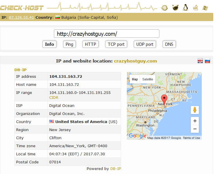 Screenshot 2017 7 30 IP and website location Check host online website monitoring