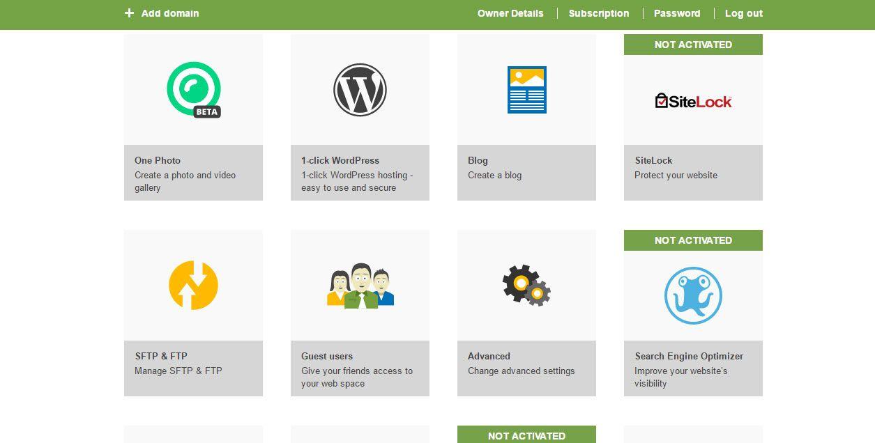 Resultado de imagen para one.com hosting