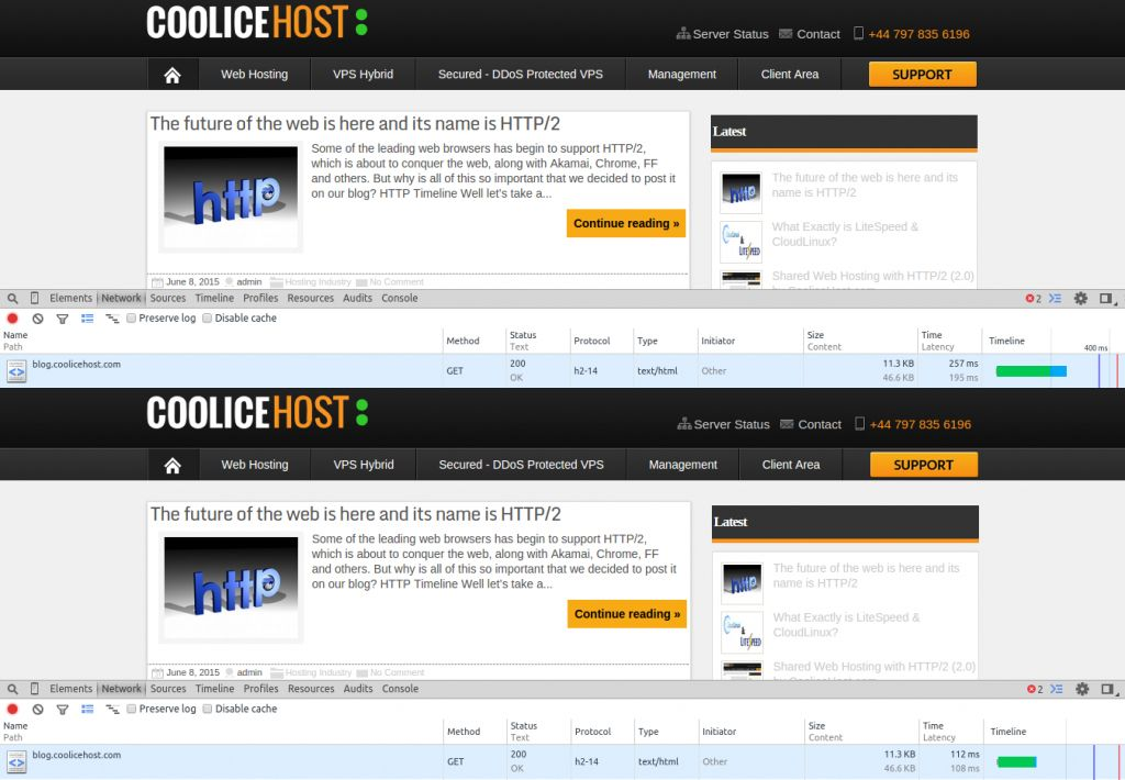 CooliceHost Test 1