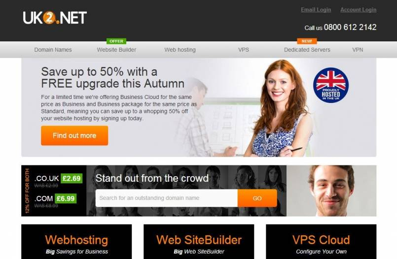 UK2 Launches New Website Builder