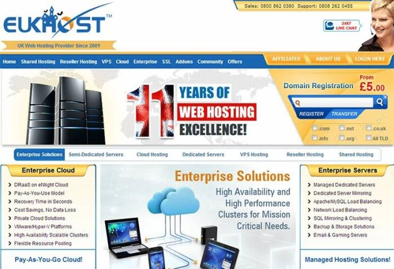 eUKhost Launches Disaster Recovery