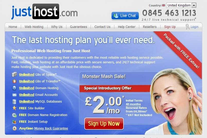 Justhost Hosting Review