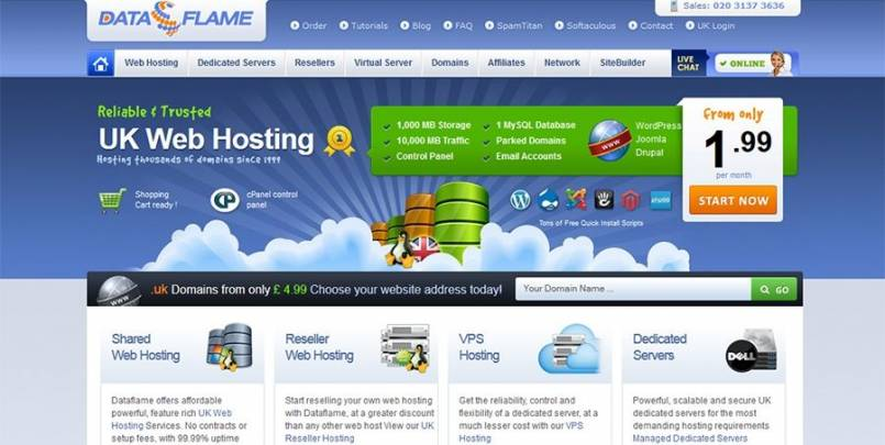 Dataflame Hosting Review