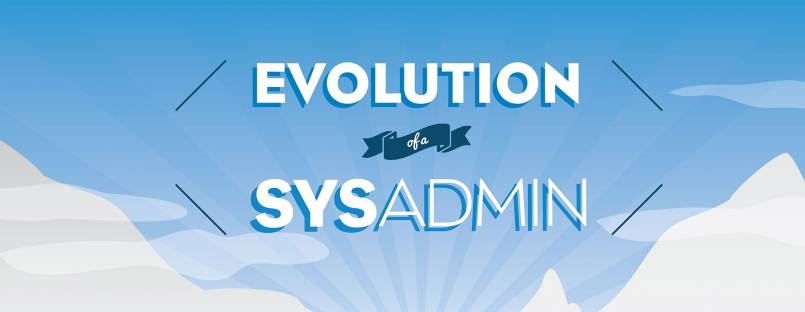 Evolution of a sysadmin - infographics