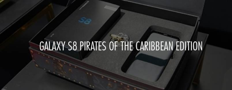 Samsung to launch Galaxy S8 Pirates of the Caribbean Edition in June
