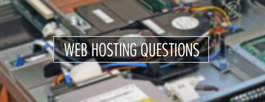 Top 20 of the web hosting questions answered